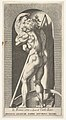 Plate 1- Saturn in a niche devouring his son, standing before a scythe, from a series of mythological gods and goddesses MET DP832202.jpg