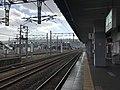 Platform No.1 of Kashii Station.jpg