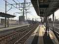 Platform of Itoshima-Kokomae Station 5.jpg