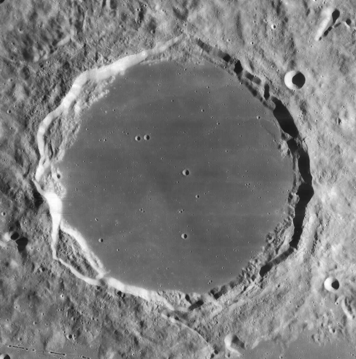 Plato (crater) - Wikipedia