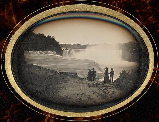 Platt D. Babbitt (American, died 1879, active Niagara Falls, New York 1853 - 1870) - Scene at Niagara Falls - Google Art Project