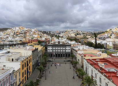 Plaza Mayor de Santa Ana and City Hall, Las Palmas de Gran Canaria