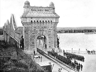 Anghel Saligny Bridge Heritage site in Constanța County, Romania