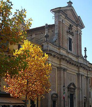 Poggio Mirteto - Poggio Mirteto's cathedral, seventeen century