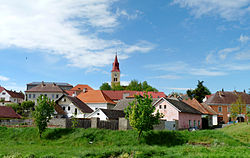 Skyline of Hořepník