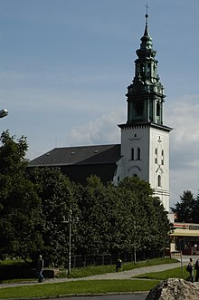 Poland Krosno Odrzanskie - church.jpg