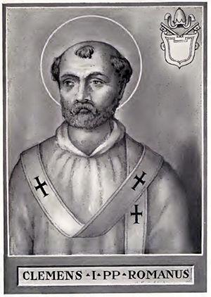 Clemente I, Papa, Santo