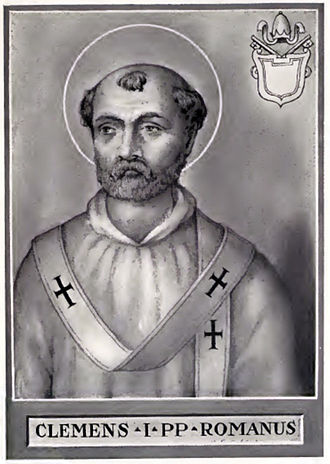 Pope Clement I - Image: Pope Clement I