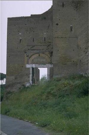 Porta Ardeatina - The present remains of Porta Ardeatina