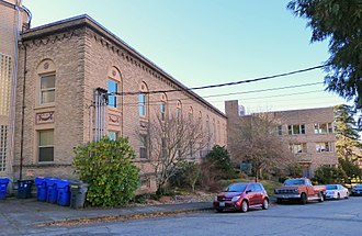 Portland Sanitarium Nurses' Quarters - The building's exterior in 2017
