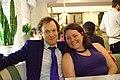 Portrait from Wikimania 2017 — 31 — Jami Mathewson and Lane Rasberry.jpg