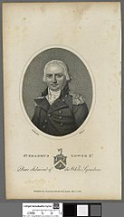 Erasmus Gower Kt., Rear admiral of the White Squadron