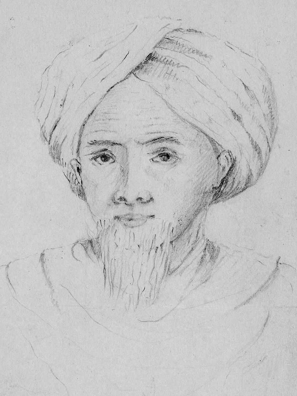 Portret van Tuanku Imam Bonjol