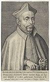 Portret van de jezuïet Everardus Mercurianus Portretten van generaal oversten van de jezuïeten (serietitel) Efigies præpositorvm generalivm societatis Iesv (serietitel), RP-P-1907-3912.jpg