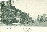 PostcardLorainOHBroadwayLookingNorth1908