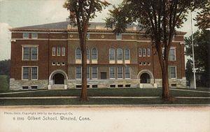 Gilbert School - The Gilbert School in 1910