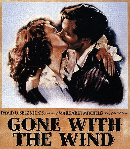 Movie poster gone with the wind