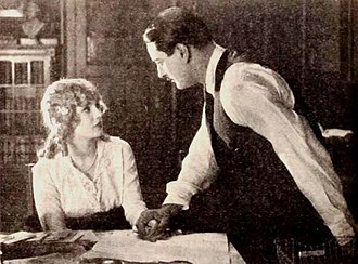 Powers That Prey - Still with Mary Miles Minter and Allan Forrest