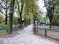 Poznań, ogród zoologiczny (stary), kon. XIX ---aleja04.JPG