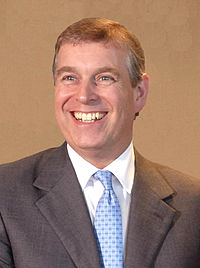 HRH The Prince Andrew, the current Duke of York