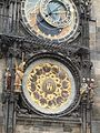 Praga, zegar astronomiczny na staromiejskim ratuszu DSC06588.jpg