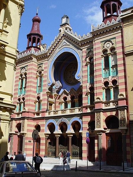 File:Prague - Jerusalemer Synagoge.jpg