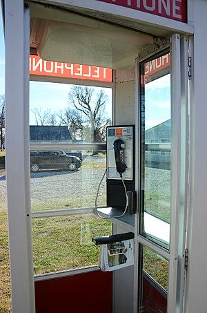 Prairie Grove Airlight Outdoor Telephone Booth - Image: Prairie Grove Airlight Outdoor Telephone Booth 3 of 5