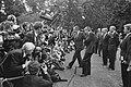 Premier Lubbers en President Bush poseren in de tuin van het Catshuis voor de ve, Bestanddeelnr 934-4839.jpg