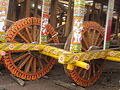 Preparing for car festival of Jagannath, Puri.JPG