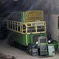 Preserved Southdown bus 125 (CD 5125) 1920 Leyland N Type Short Brothers (1928 rebody), Amberley Museum, 17 October 2008.jpg