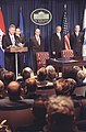 President Clinton addressing the Croat-Muslim Federation Peace Agreement signing ceremon - Flickr - The Central Intelligence Agency.jpg