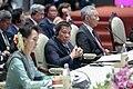 President Duterte, Aung San Suu Kyi and Lee Hsien-loong at 22nd ASEAN-Japan Summit 2.jpg