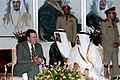 President George H. W. Bush and King Fahd bin Abdulaziz Al Saud discuss the situation in Iraq.jpg