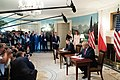 President Trump and First Lady Visit with the President of Poland and Mrs. Duda (48055441806).jpg