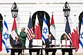 President Trump and The First Lady Participate in an Abraham Accords Signing Ceremony (50346677397).jpg