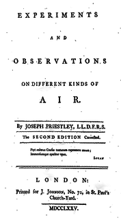 book by Joseph Priestley