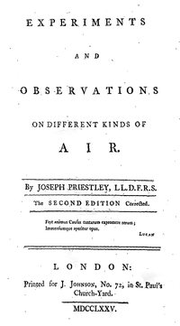 Experiments and Observations on Different Kinds of Air cover