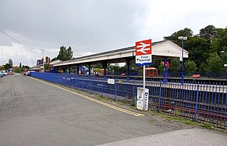 Princes Risborough railway station Railway station in Buckinghamshire, England