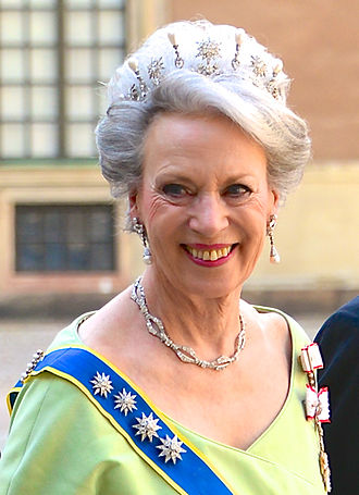 Princess Benedikte of Denmark - Benedikte at the wedding of Princess Madeleine of Sweden, 8 June 2013