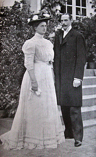 Prince Harald of Denmark - Prince Harald and Princess Helena in 1909