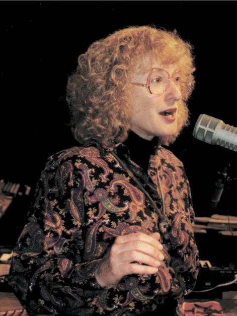 Priscilla McLean singing