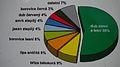 Procentuální zastoupení dřevin v Xaverovském háji (výřez z informační tabule).jpg