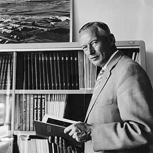 Cornelis Bakker - Professor Cornelis Jan Bakker at CERN, 1959