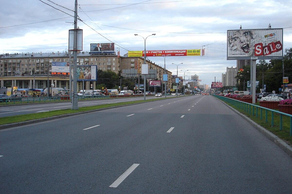 Проспект Вернадского (Москва) — Википедия f82bc241010