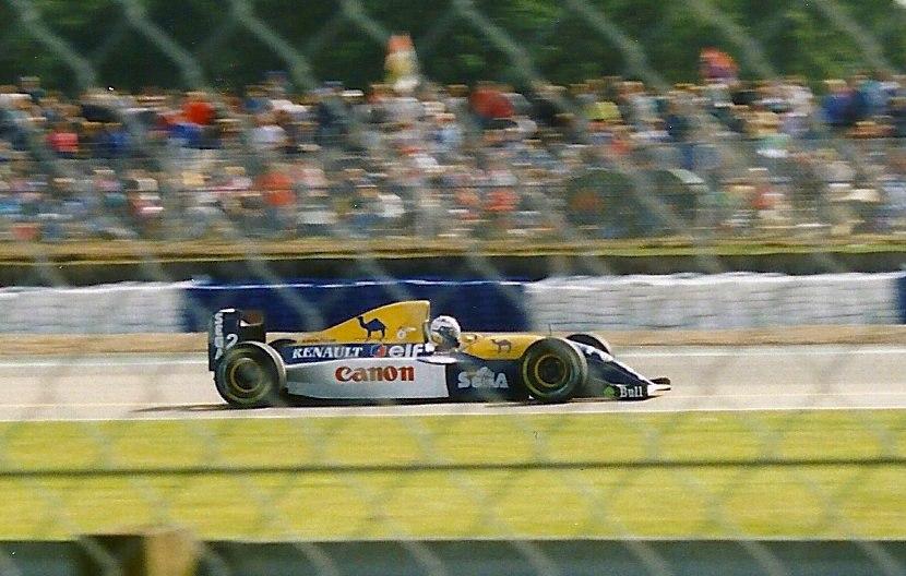 Prost at 1993 British Grand Prix crop