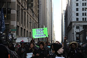 Shooting of Laquan McDonald - Protest on December 9, 2015