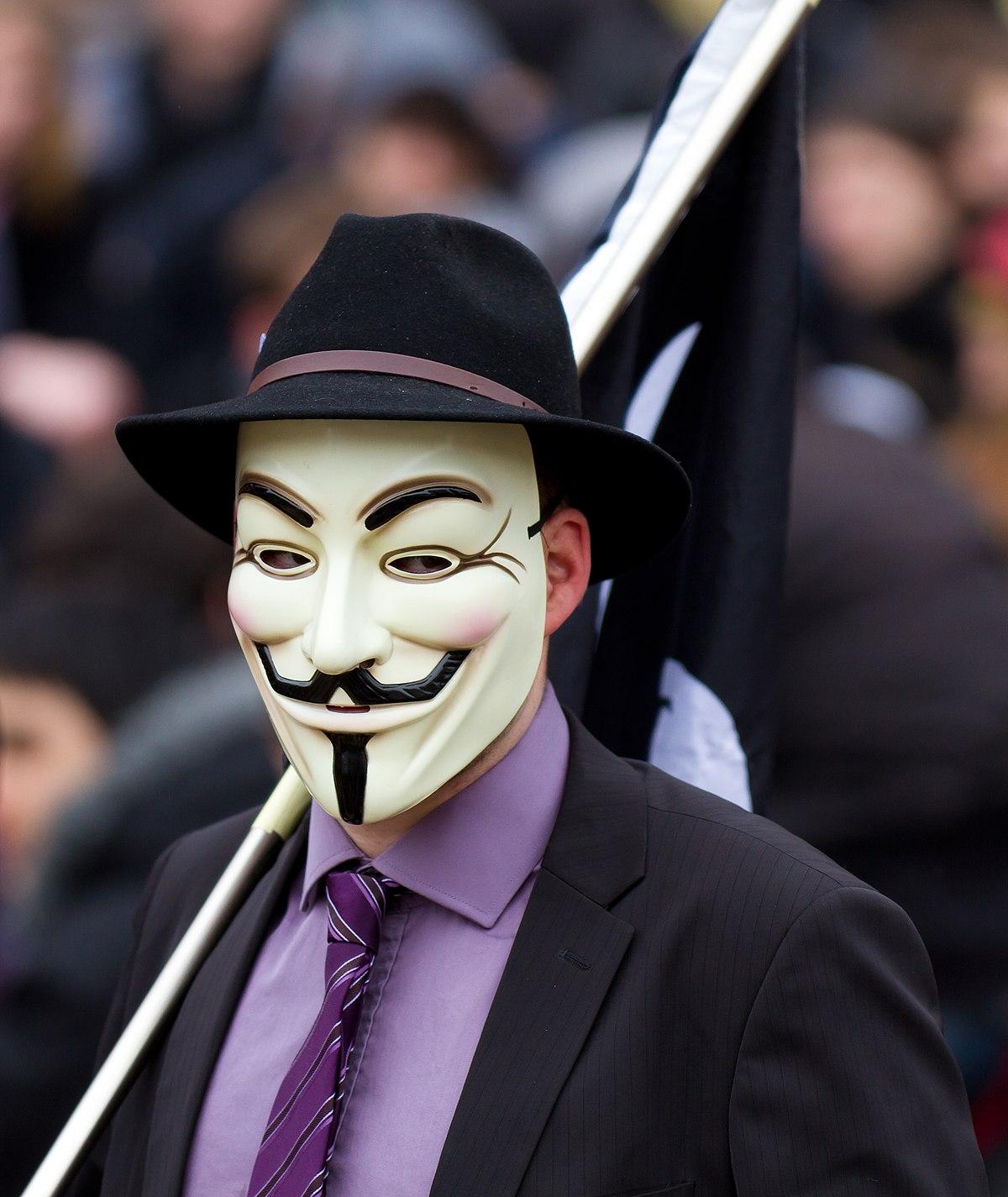 maschera di guy fawkes wikipedia