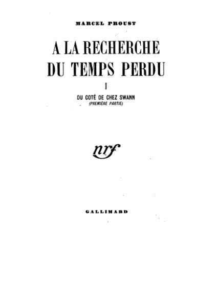 File:Proust - Du côté de chez Swann.djvu