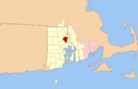 Map of Providence Metropolitan Area