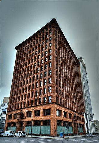 1894 in architecture - Louis Sullivan's Guaranty Building